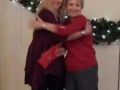 Presidential Hug! Incoming Sue Hunter Outgoing Cheryl Nix